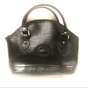 Dooney & Bourke Vintage Black Pebble Small Handbag